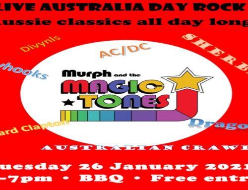 Australia Day Rock